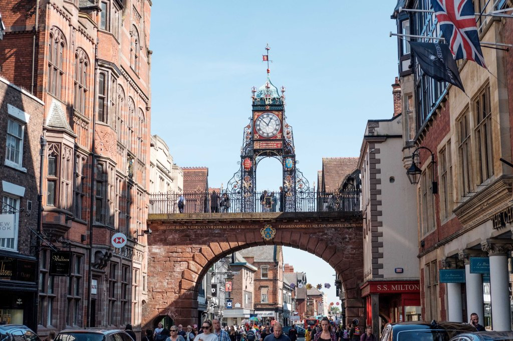 Chester's Iconic Clock Visit Chester