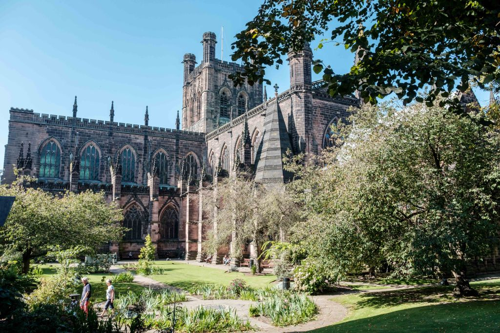 Things to do in Chester beautiful Cathedral grounds