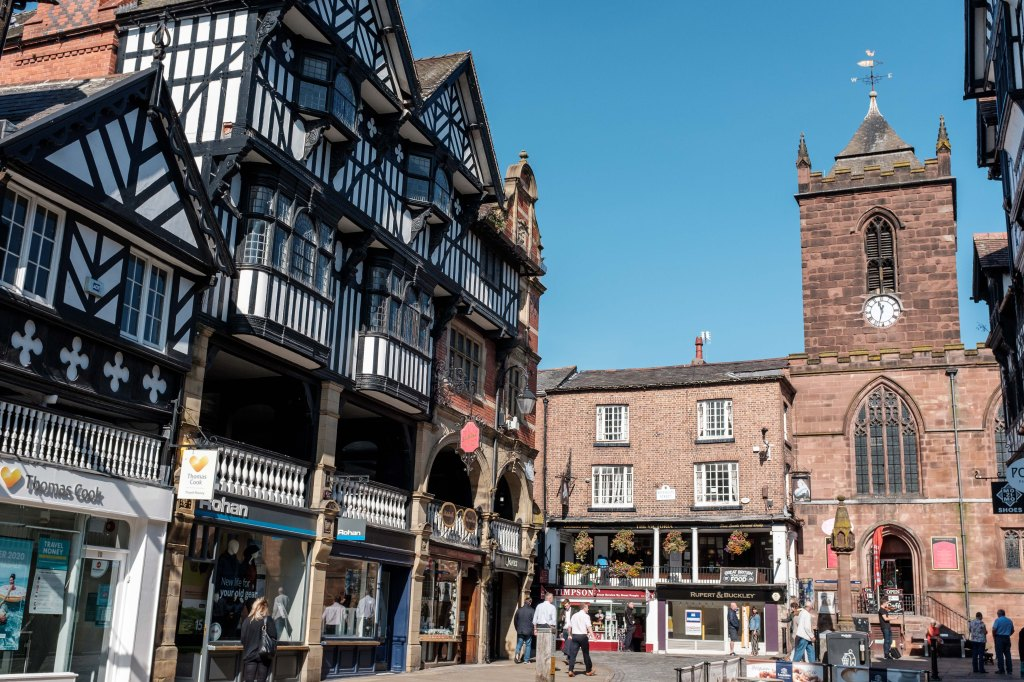 Chester amazing buildings